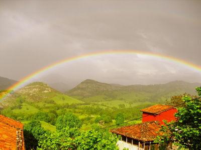 arco iris el rexacu hotel rural asturias