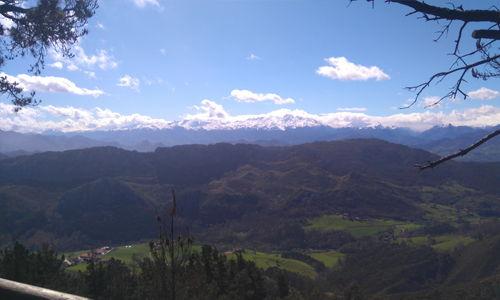 mirador vistas picos de europa desde bobia