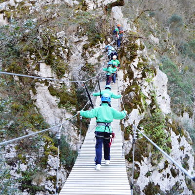 aventura hotel rural en Asturias con niños