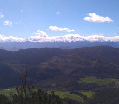 hotel rural romantico en asturias puesta de sol mirador