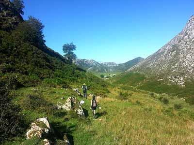 ruta covadonga desde el rexcu